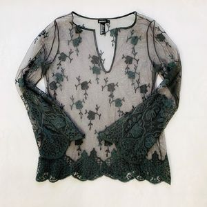 DKNY Lace Top